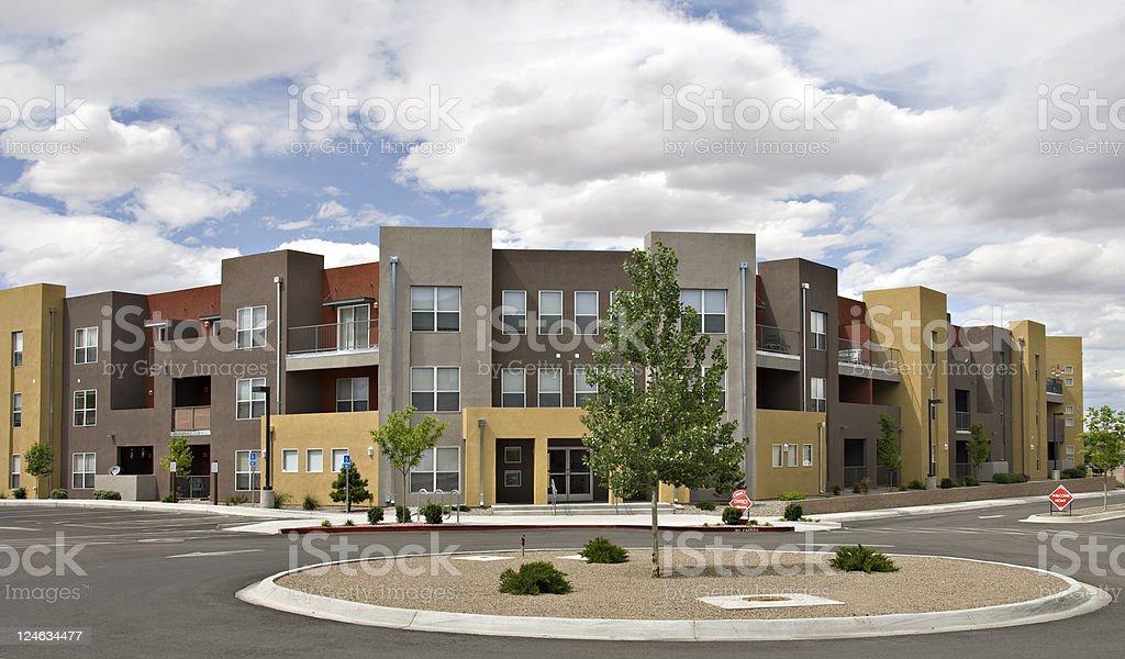 Condominiums, Apartments and Urban Housing royalty-free stock photo