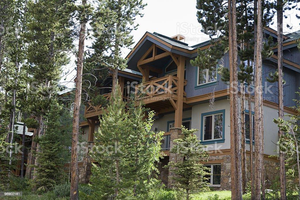 Condominiums in Colorado stock photo