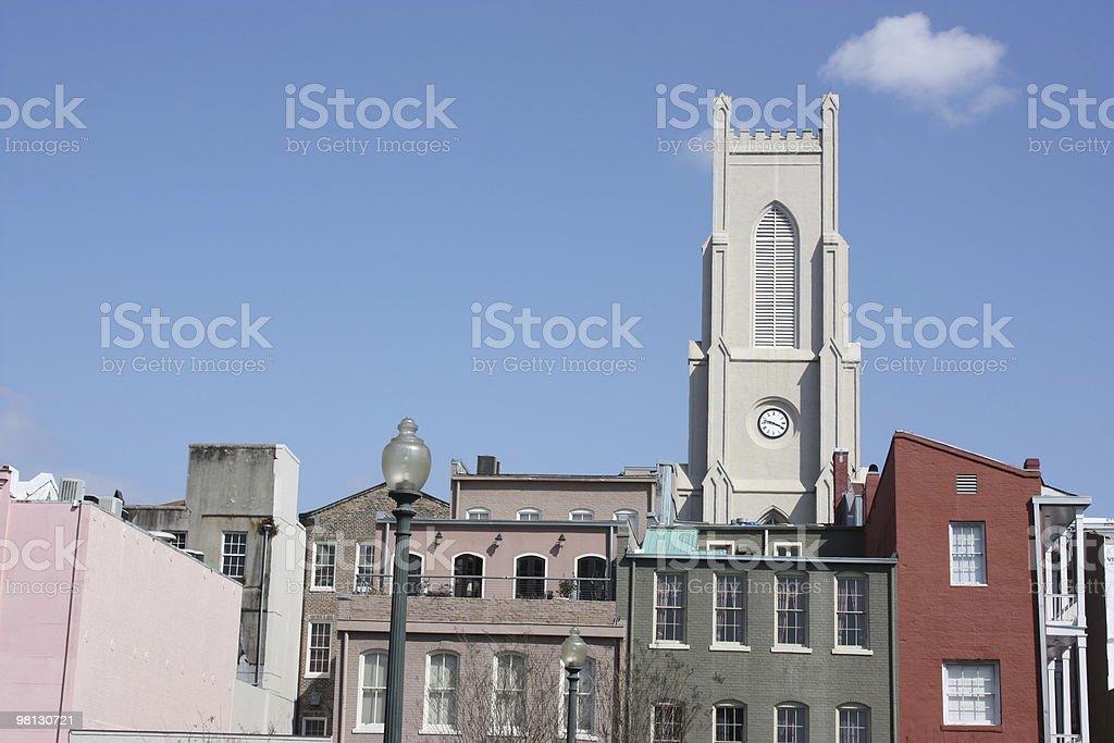 Condominiums in New Orleans, Louisiana, USA royalty-free stock photo