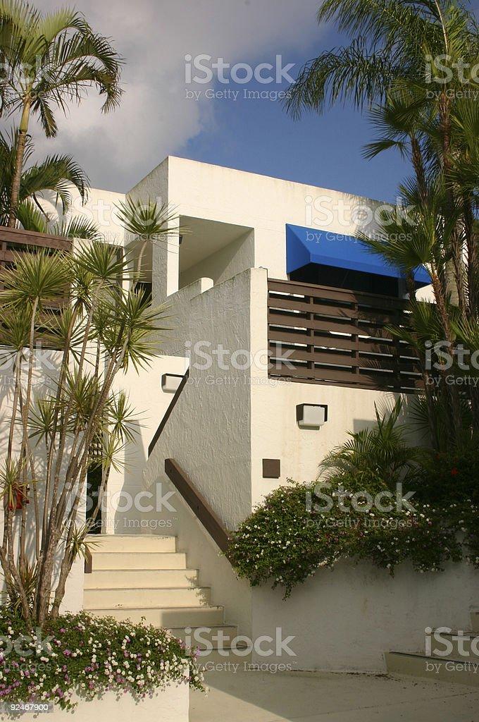 Condominiums in the Tropics royalty-free stock photo
