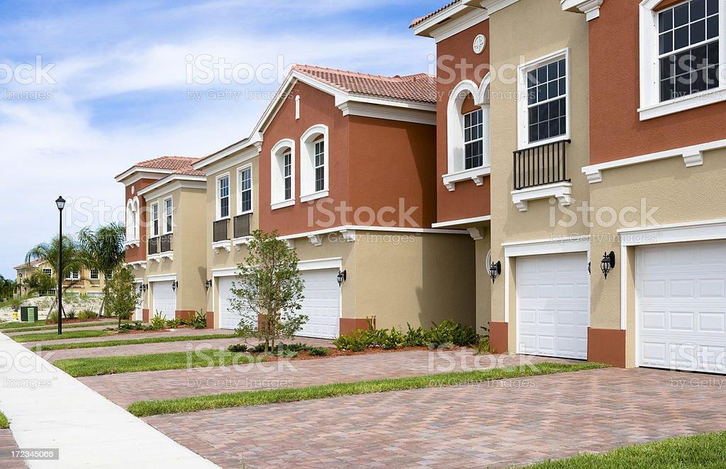 Condominiums stock photo