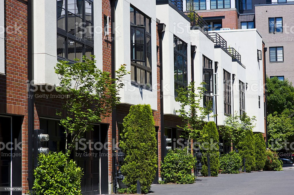 Condominiums royalty-free stock photo