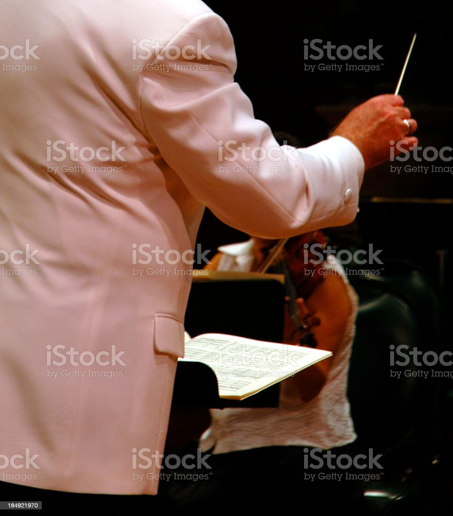 Conductor royalty-free stock photo