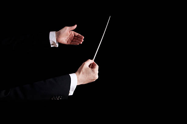 conductor - motivationsmusik stock-fotos und bilder
