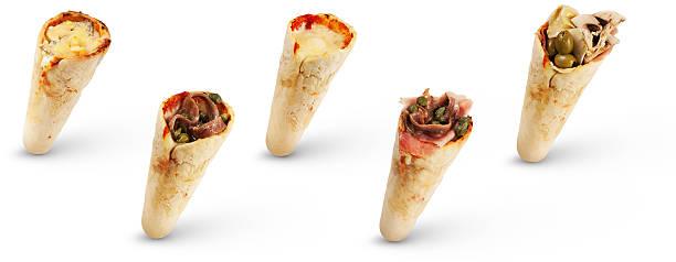 Cone Pizza stock photo