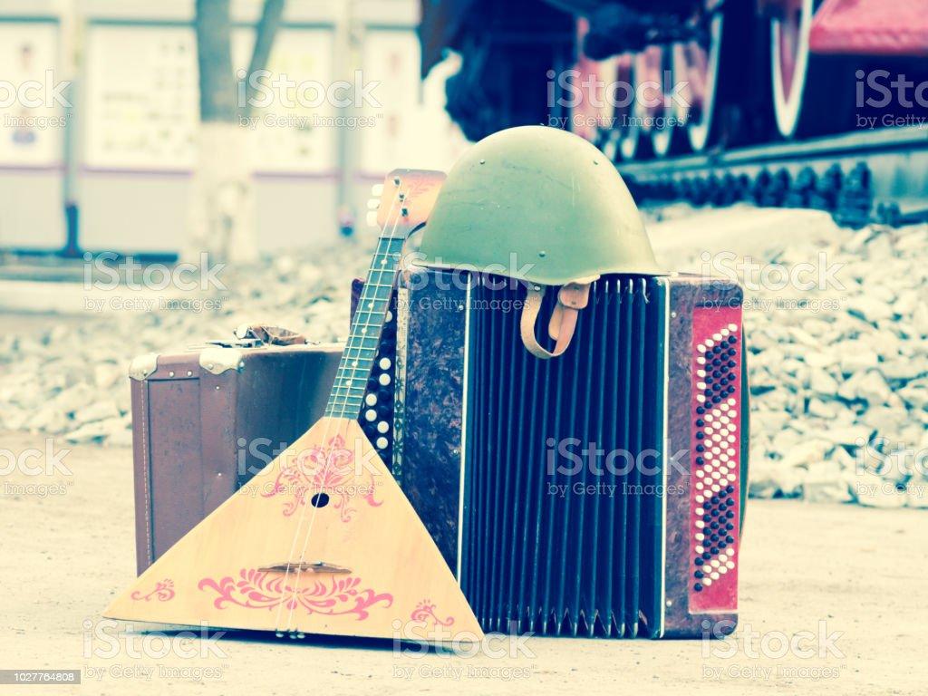 Conсept der Soldat nach dem zweiten Weltkrieg in Russland hinauf – Foto
