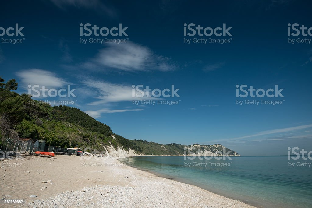 Conero Natural Park stock photo
