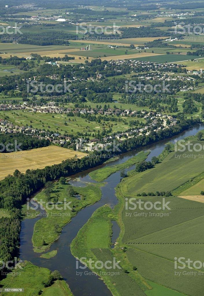 Conestogo, aerial stock photo