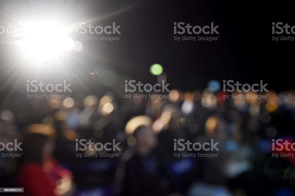 Conference Audience stock photo