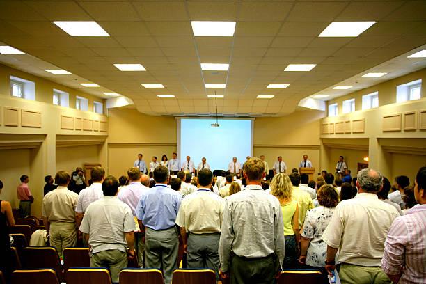comienzo de conferencias - gran inauguración fotografías e imágenes de stock