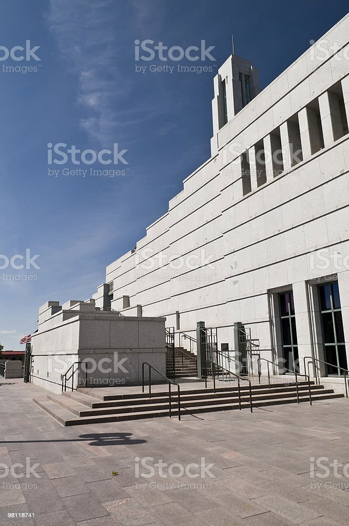 LDS Conference Center royalty-free stock photo