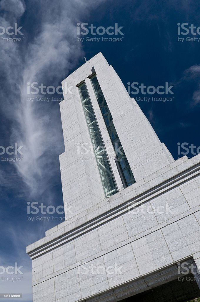 Conference Center Spire royalty-free stock photo