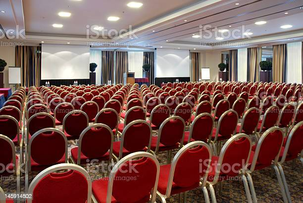 Conference Centre Stock Photo - Download Image Now