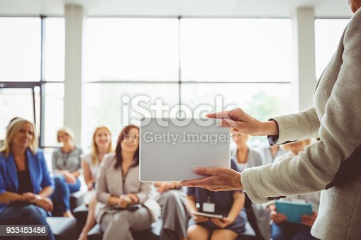 1028234706 istock photo Conference for women 933453486