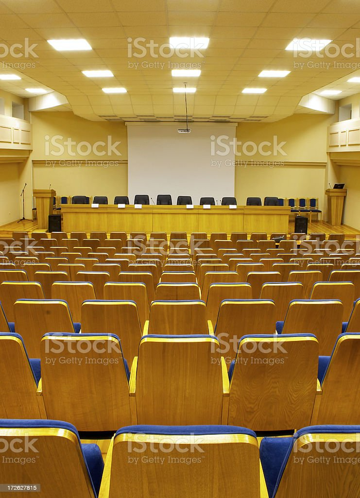 Conference hall - 18 royalty-free stock photo