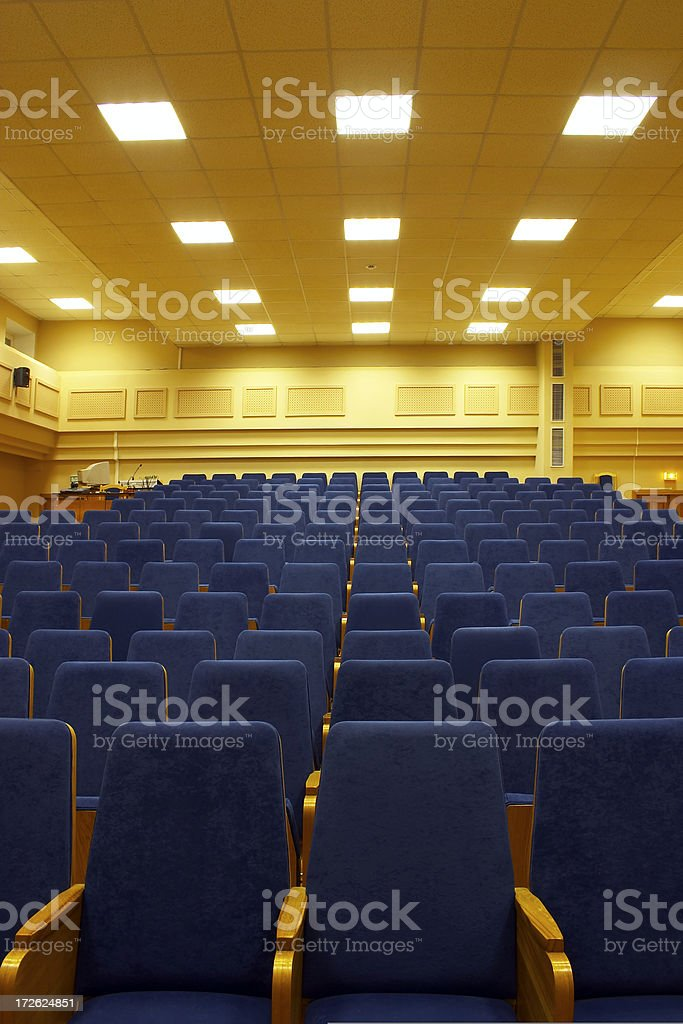 Conference hall - 6 royalty-free stock photo