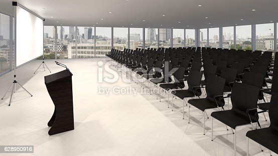 istock Conference hall 628950916