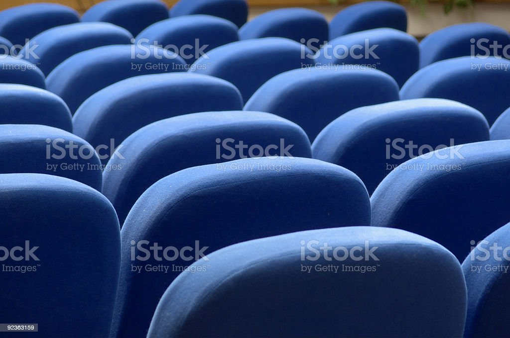 Conference hall royalty-free stock photo