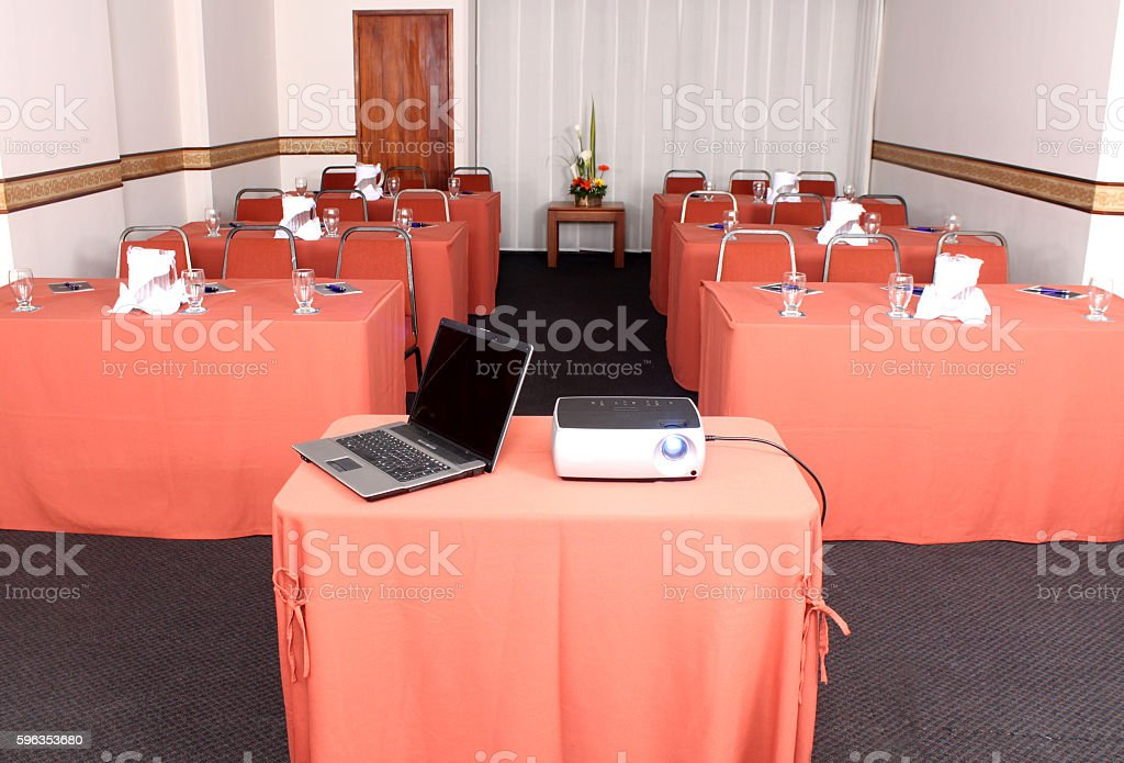 Conference / Meeting Room royalty-free stock photo