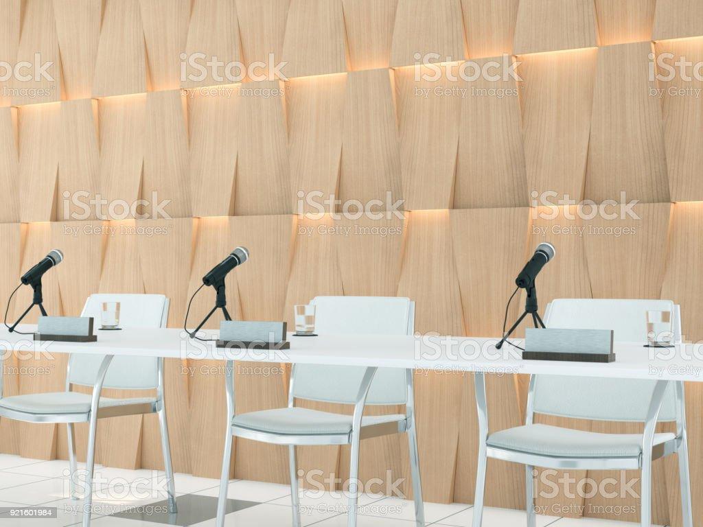 Konferenzmikrofonen – Foto
