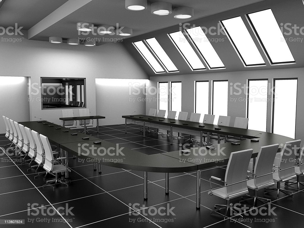 Conference of halls royalty-free stock photo