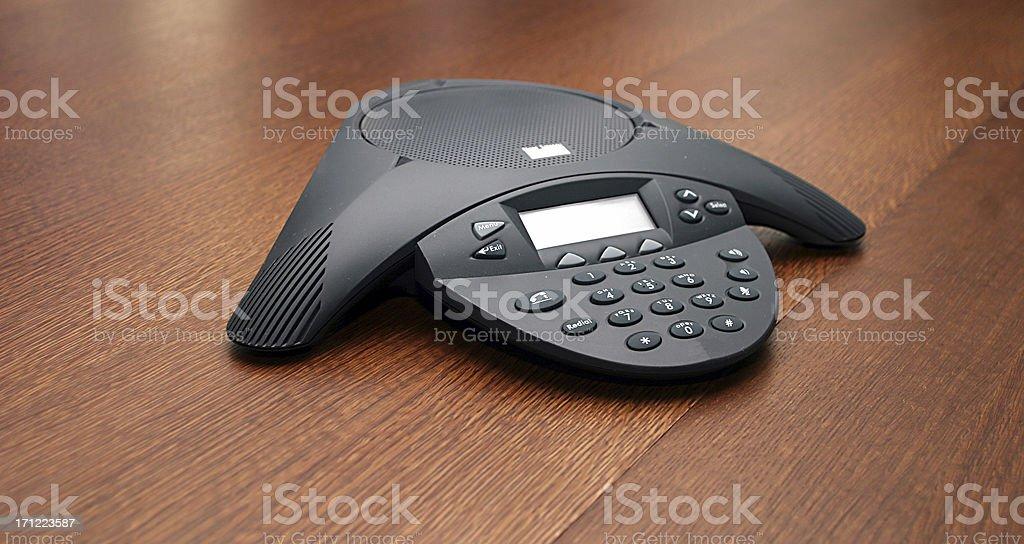 Conference Phone Lizenzfreies stock-foto