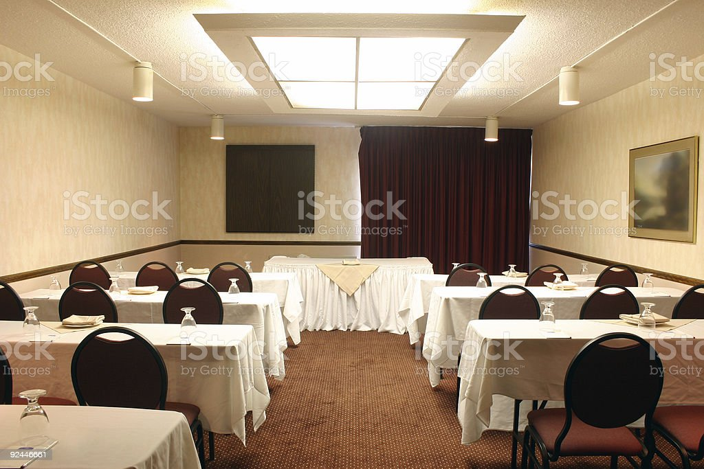 Conference Room - Classroom Style stock photo