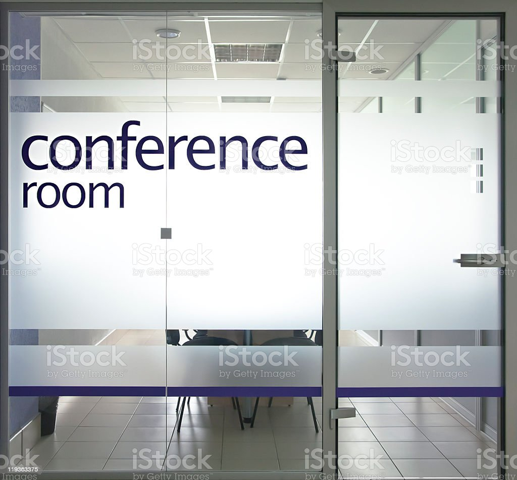 office glass door. Conference Room Entrance With Glass Door Royalty-free Stock Photo Office R