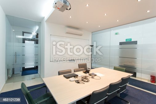 istock Conference room 463101239