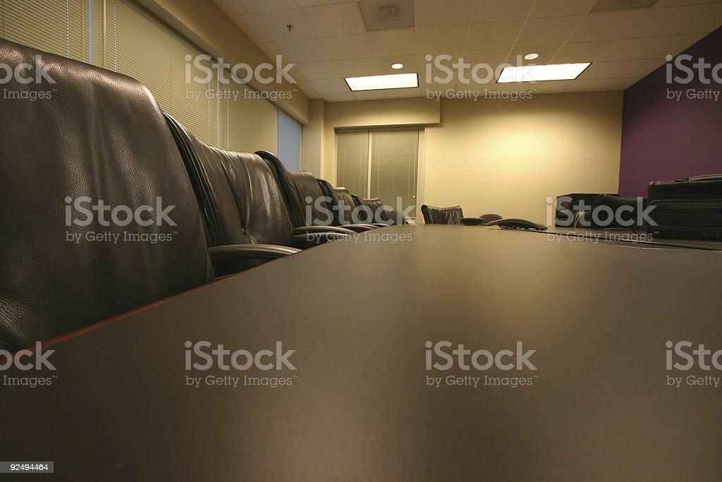 Konferenzraum Lizenzfreies stock-foto