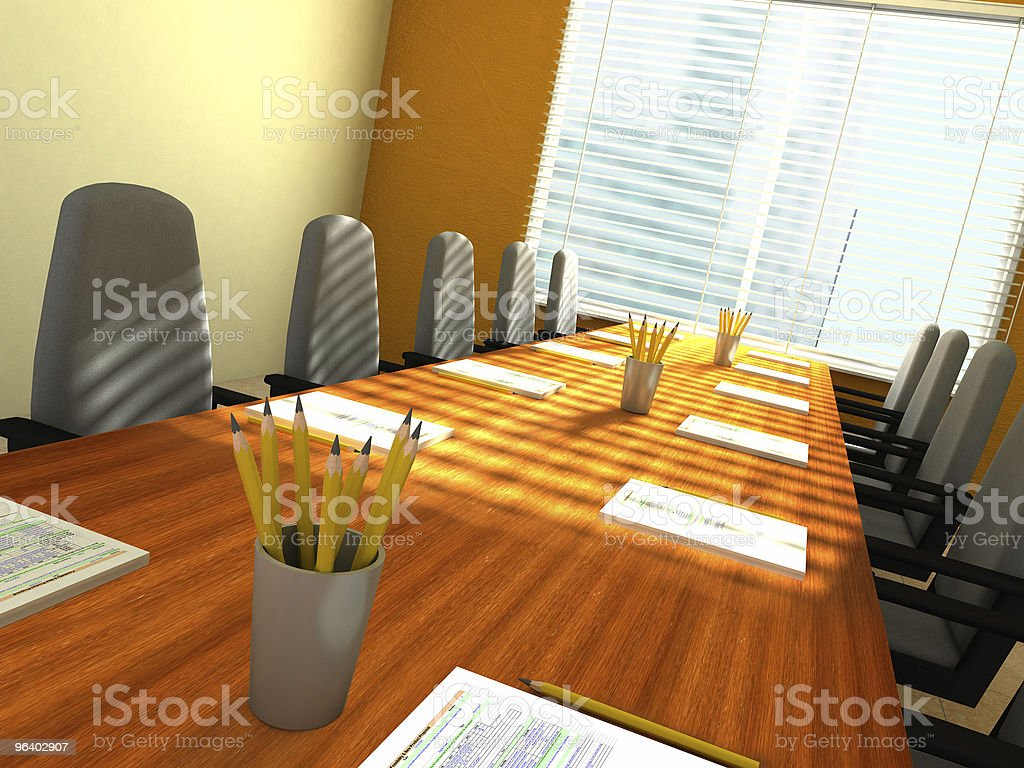 Conference room - Royalty-free Board Room Stock Photo