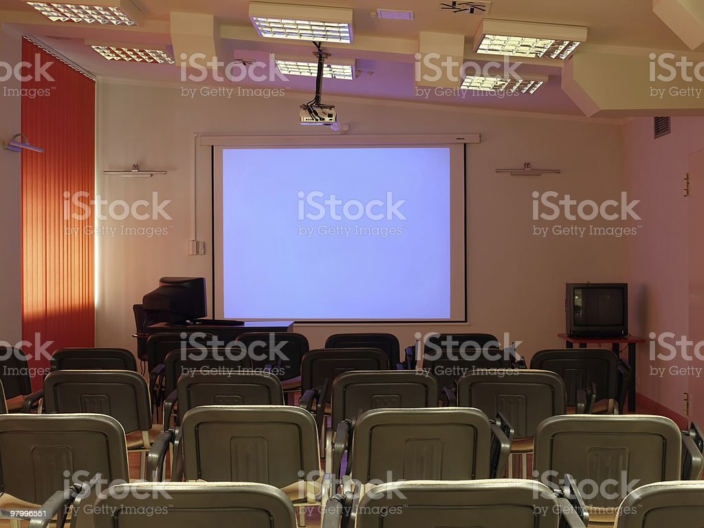 Conference room royalty free stockfoto