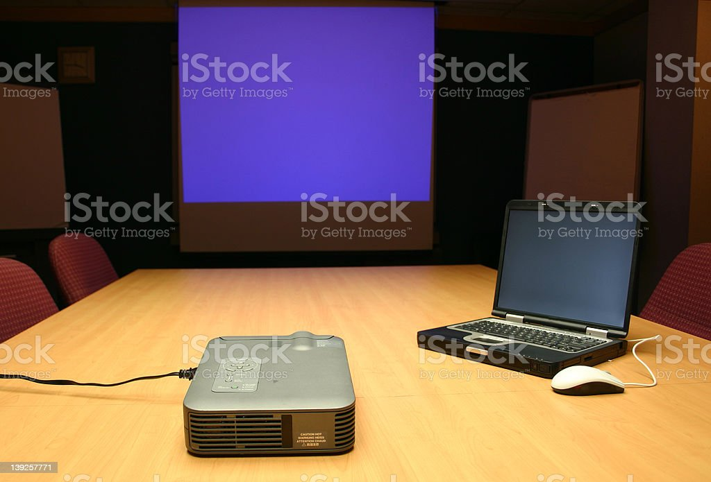 Conference room presentation royalty-free stock photo