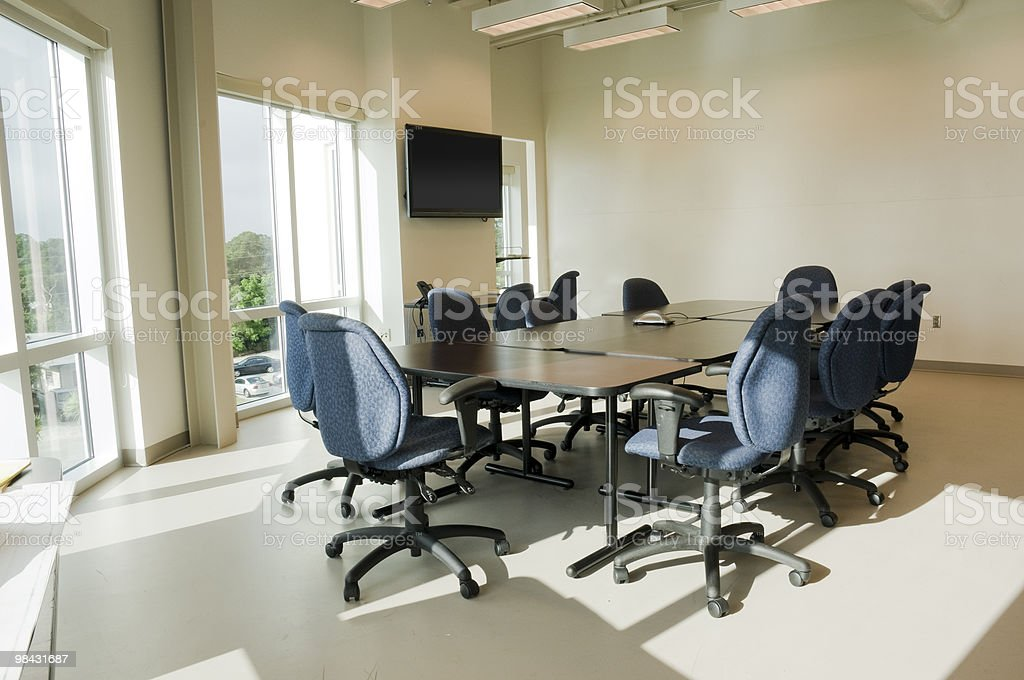 Conference Room with Light royalty-free stock photo