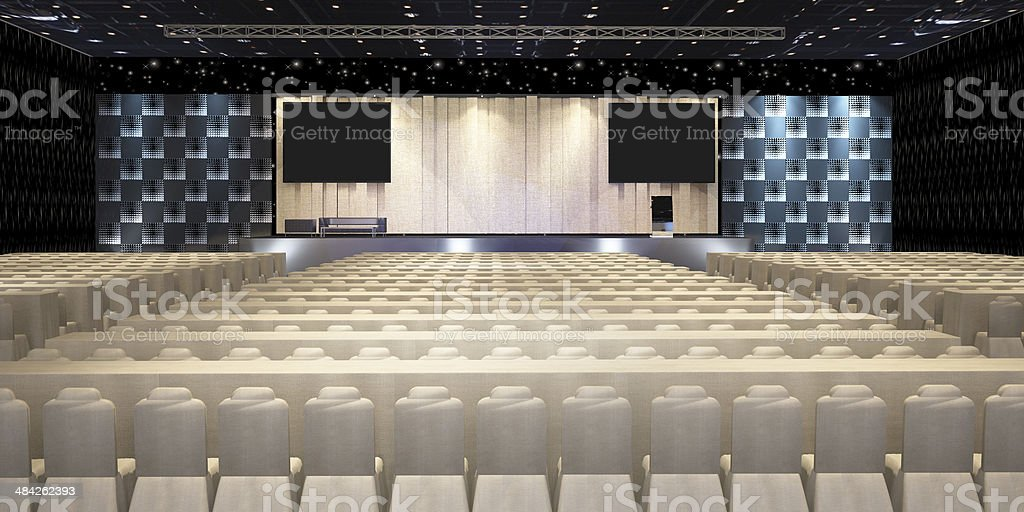 Conference rooms stock photo