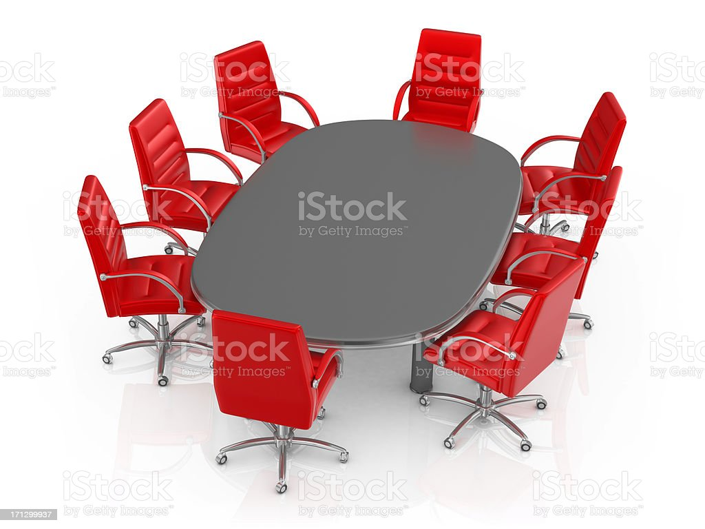 Conference Table royalty-free stock photo