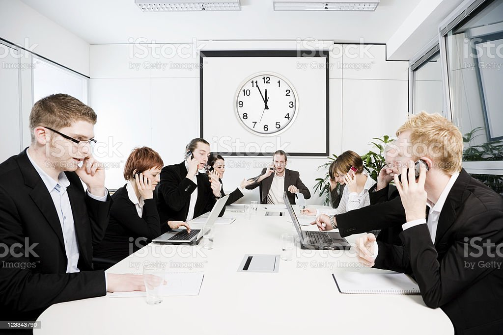 Conferenceroom Series - Busy stock photo