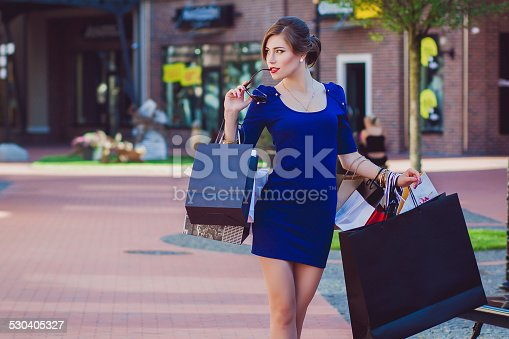 615594632 istock photo Confessions of a Shopaholic 530405327