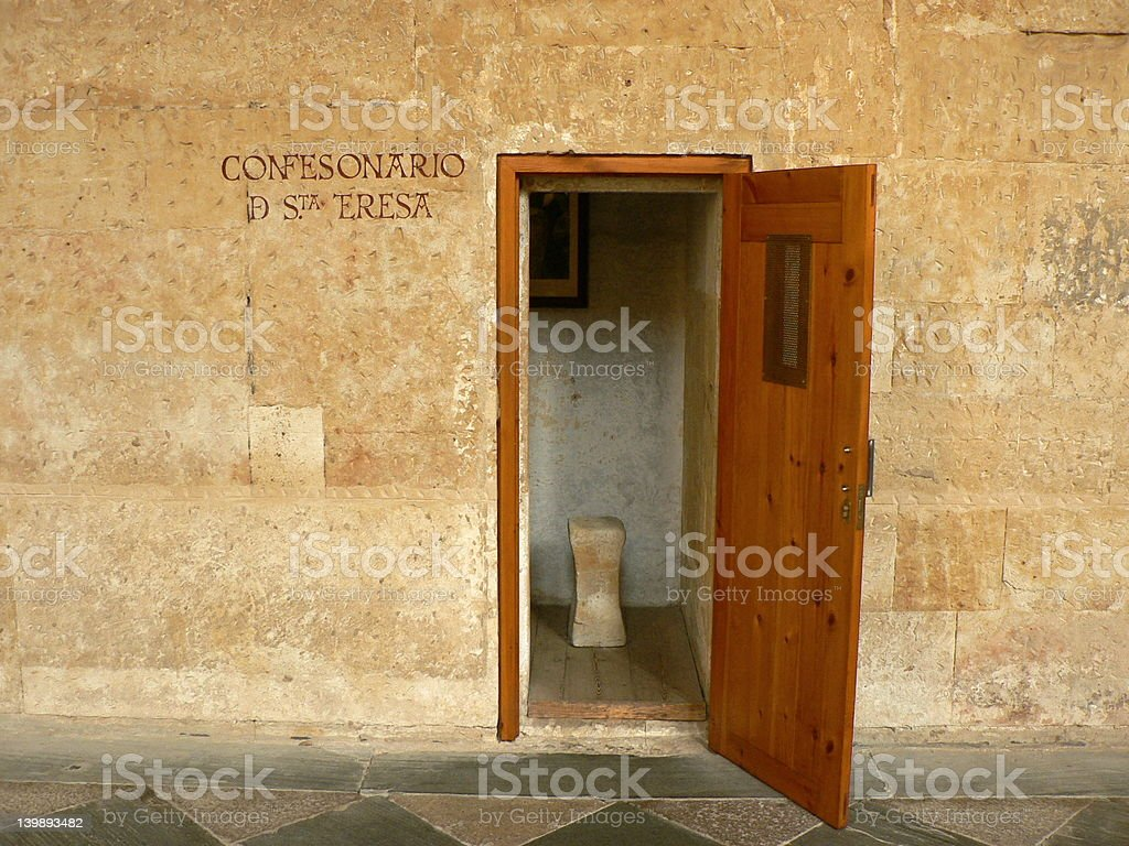 Confessions royalty-free stock photo