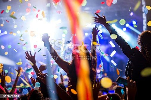 istock Confetti and party 857624454