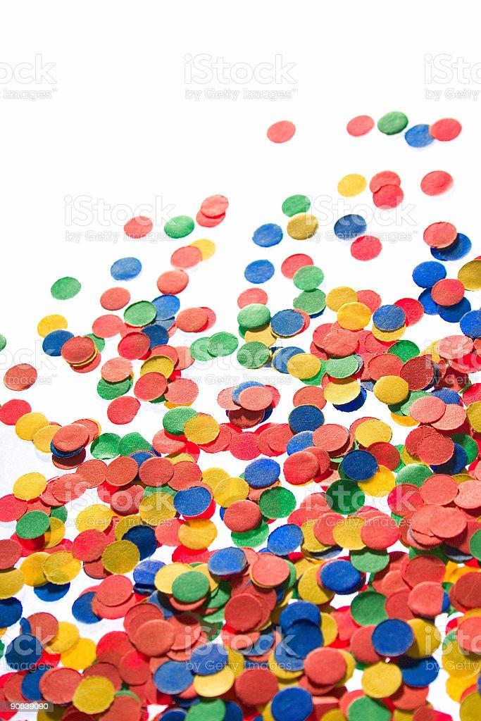 confetti background royalty-free stock photo