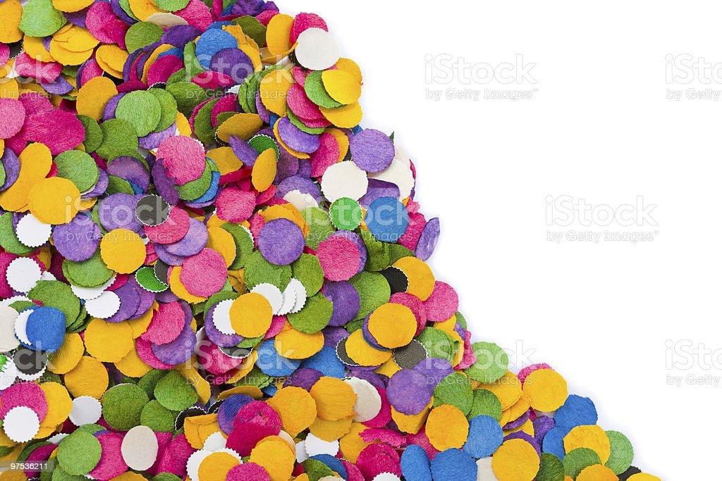 Confetti fond de photo libre de droits