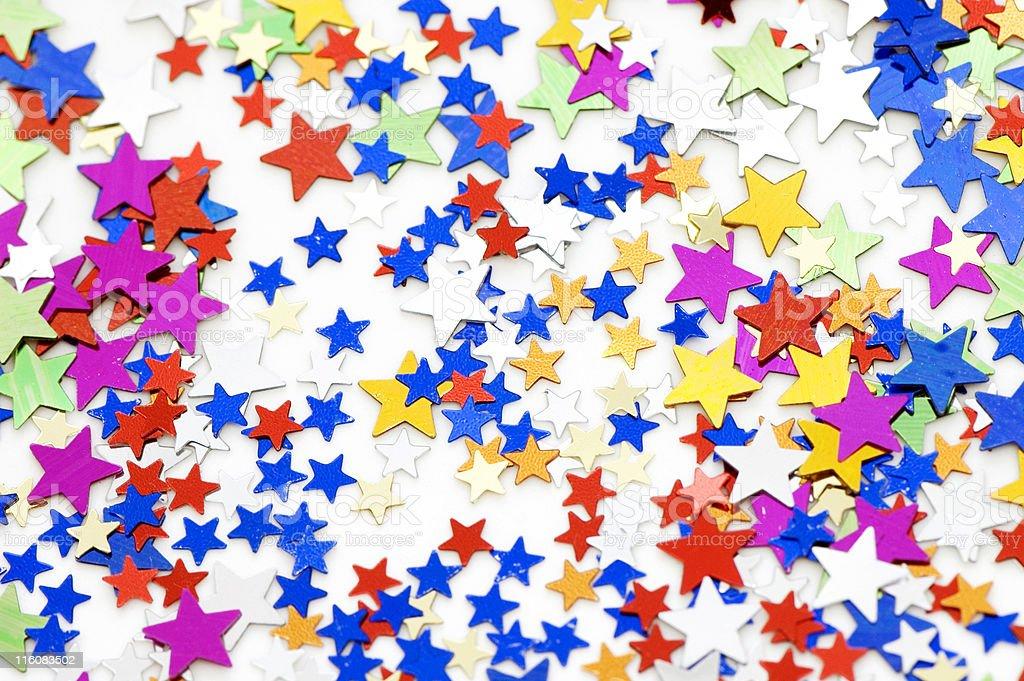 Confetti Backround royalty-free stock photo