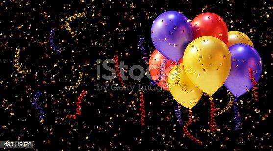 istock Confetti Balloons 493119172