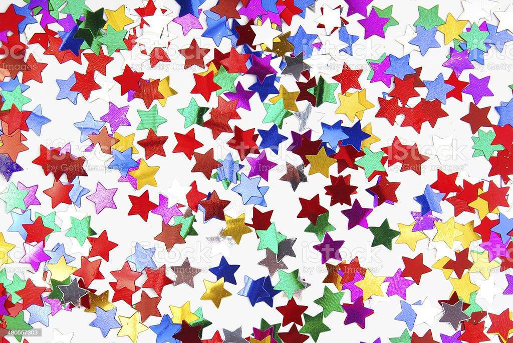confetti colorful background stock photo