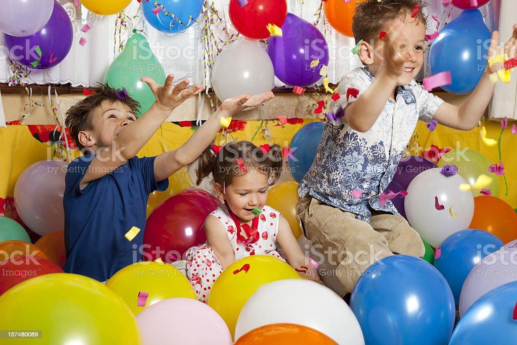 Confetti fun! royalty-free stock photo