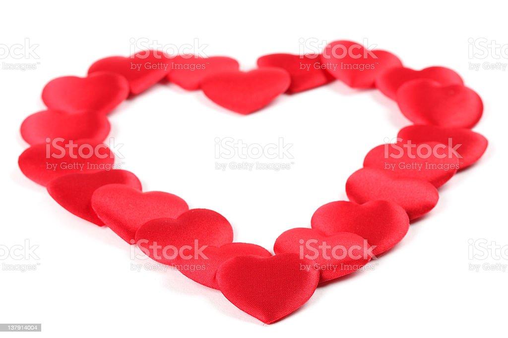 Confetti heart royalty-free stock photo