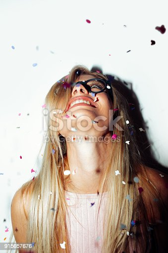 915661236 istock photo Confetti party 915657676