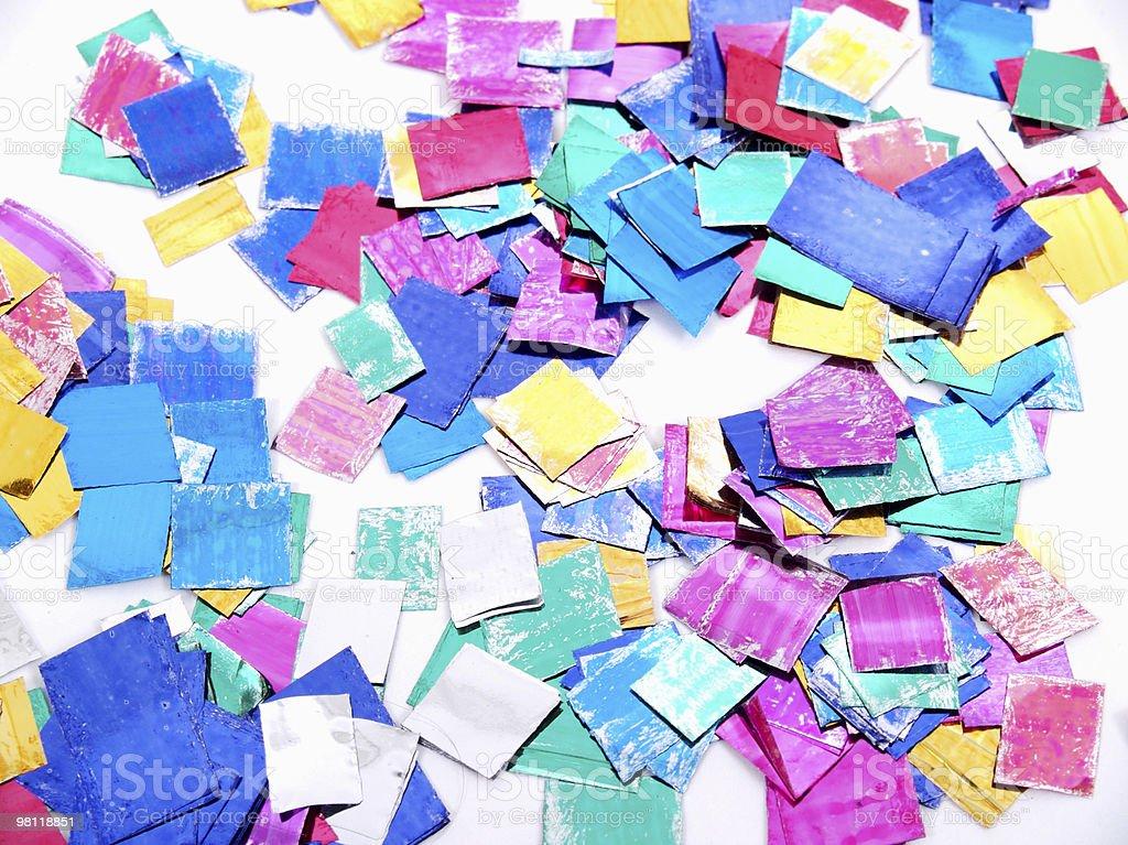 Confetti royalty-free stock photo