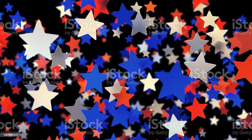 Confetti-Stars-A06 stock photo